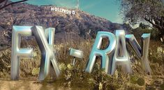 3D Text – FX-Ray