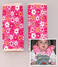 You Brew My Tea: AUGUSTA BABY SEAT BELT COVERS