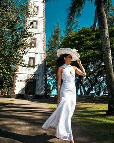 Tahiti style Island Wedding Dresses, Island Weddings, Island Wear, Island Outfit, Polynesian Wedding, Polynesian Dresses, Luau Costume, Samoan Dress, Tahitian Costumes