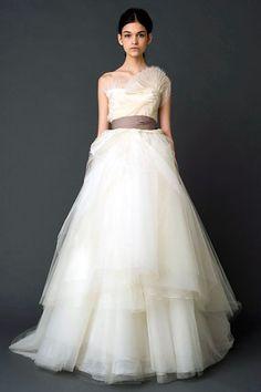 Vera Wang Fall 2011 Bridal.