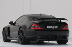 BRABUS Mercedes SL65 AMG Black Series