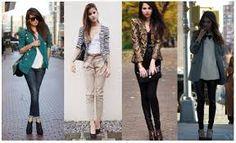 Resultado de imagem para conjunto calça e blazer feminino