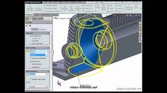 Solidworks Tutorial, Cad Cam, Video Tutorials, Geometry, Modeling, How To Apply, Training, Exercise, Link