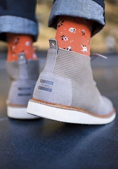 038e83be53e It s all in the details with TOMS Men s Mateo Chukka Boots. Toms One For One