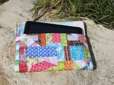 Tablet quilted bag. I am doing this project now. Hoping for the best!