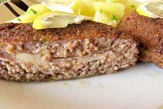 Sekané řízky Cordon bleu Cordon Bleu, Meatloaf, Food, Essen, Meals, Yemek, Eten