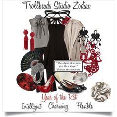 Trollbeads Studio Zodiac- Year of the Rat