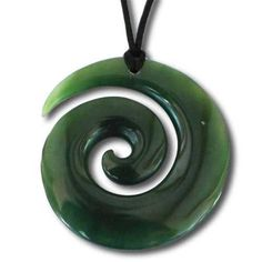 The traditional Maori Koru designed here in Greenstone, one of the most sought after materials in New Zealand. Hawaiian Tribal Tattoos, Samoan Tribal Tattoos, Maori Tattoos, Borneo Tattoos, Tatoos, Ethnic Jewelry, Jewellery, Koru Tattoo, Thai Tattoo