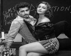 Arjun Kapoor and Alia Bhatt Hot Photos