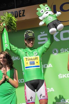 Stage 13 - Green Jersey leader, Peter Sagan (Tinkoff-Saxo) was 'angry and disappointed' with the mistakes he made at the finish.