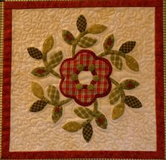 Sew'n Wild Oaks Quilting Blog.  : block from Christmas Windows pattern by Brandywine Designs