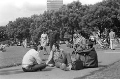Hyde Park, 1969. Vintage London, Hyde Park, Monochrome, The Good Place, Parks, England, Explore, History, Pictures
