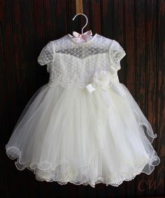 Cynthia Girls Party Dress - Christening Wardrobe