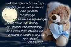 Kartka pod tytułem Dobranoc Good Night All, Teddy Bear, Google, Good Night, Nice Asses, Teddy Bears