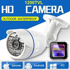 24.80$  Watch now - http://alij16.shopchina.info/go.php?t=32809712365 - HD 1200TVL IR-LEDs CCTV Camera Home Security Day/Night Waterproof Security Camera Chamber  #buyonline