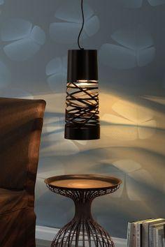 Copernicus Black Ceiling Lamp