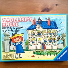 Vintage 1995 Ravensburger Madeleine's House game