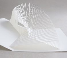 Infinity by Masahiro Chatani, the master of Origamic Architecture. Upon A Fold In Japan – Paper Show —  The Design Files | Australia's most popular design blog.