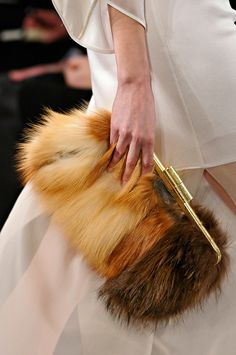 july 31,2014 BCBG Max Azria  Love the color combination of the mink would look great as a pair of killer heels