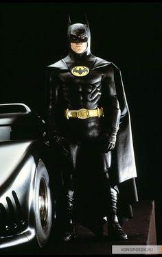 Love Michael Keaton's Batman.