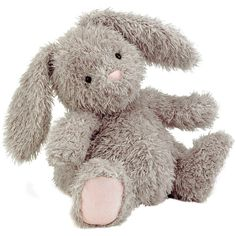 Jellycat Pudge Bunny ($26) ❤ liked on Polyvore featuring baby, toys, kids, stuffed animals, fillers, backgrounds, embellish and detail