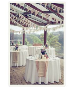 I could do these banners on my deck for a party. I want to have a party! Wedding Blog, Diy Wedding, Rustic Wedding, Wedding Reception, Dream Wedding, Wedding Bunting, Wedding Ideas, Wedding Banners, Wedding Photos