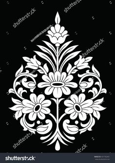 Cushion Embroidery, Folk Embroidery, Mehndi Art Designs, Beautiful Rangoli Designs, Boarder Designs, Stencil Designs, Embroidery Suits Design, Hand Embroidery Designs, Window Glass Design