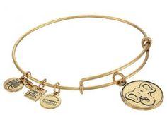Alex and Ani The Elephant Charm Bangle (Rafaelian Gold Finish) Bracelet