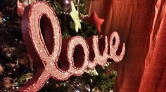Love Custom 2 INCH THICK Names/Words in script for Valentines decorated in any color glitter , a variety of fonts available