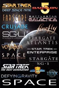FACT! From 1987 till 2011 there was a sci-fi series set in space each season!