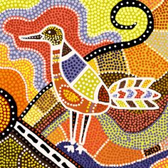 aboriginal art birds - Google Search