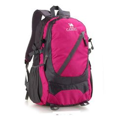 The New Nylon Backpack Mountaineering Bag Large Capacity Travel Bag Student Bags Six Colors