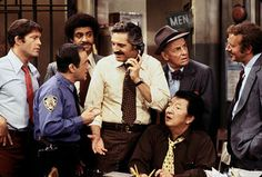 Barney Miller - 1974-1982,meet Ron Glass in the marina del ray, He loved the resturants over there! very nice man!