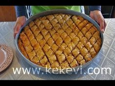 Simply Turkish Baklava recipe from scratch! Learn how you filled Turkish baklava with walnut from scratch. You will be amazed how easily yo...