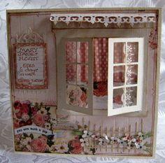 window card (flower shop) by Susie