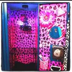 Cute locker. Done by my little sister :)