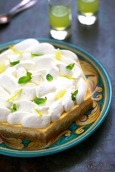 Un dejeuner de soleil: Cheesecake citron et limoncello inspiré de Michalak