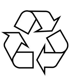 Here, the cheat sheet you need properly dispose of recyclables. Earth Day Activities, Art Activities, Recycled Bottles, Recycle Plastic Bottles, Transportation Activities, Recycle Symbol, Earth Day Crafts, Desenho Tattoo, Business Icon