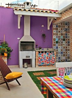 Casa - Decoração - Reciclados: Lá no Quintal...tem Cores, Flores e Muito Mais!