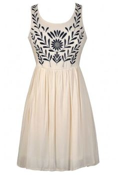 white dress with embroidery and lace #maurices | dresses ...