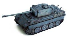 World of Tanks - Pz.Kpfw. V Panther Ausf. D Free Paper Model Download