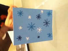 Sewed Snowflakes Card Snowflake Cards, Snowflakes, Sewing, Dressmaking, Snow Flakes, Couture, Stitching, Full Sew In
