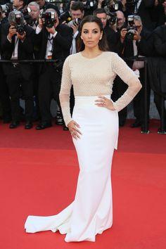 Eva Longoria: http://www.stylemepretty.com/2016/05/18/wedding-ready-dresses-from-the-cannes-film-festival-red-carpet/