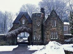 Fairytale gate house