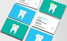 Happy-teeth business card