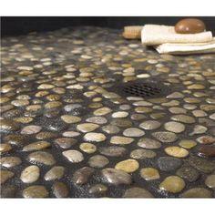 Stone Shower Flooring ...Walls?