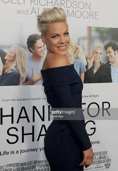 Actress/singer Alecia Moore arrives at the Los Angeles premiere of 'Thanks For Sharing' at ArcLight Hollywood on September 16, 2013 in Hollywood, California.