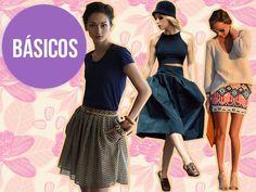 Atuendos con falda #actitudfem #estilofem #moda #estilo #look #consejo #outfit #summer #falda