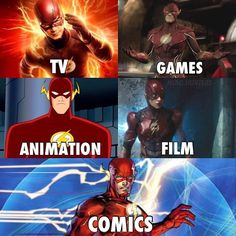 The Flash incarnations