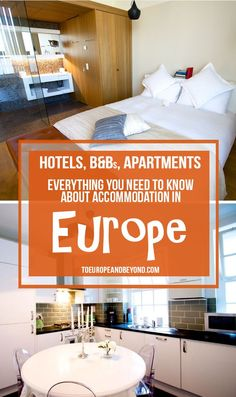 What kind of accommodation should you book for your trip to Europe? While the answer to that question was quite simple even just a decade ago, it's recently become a bit of a pickle. Luxury hostels, hotels, short-term apartment rentals, couchsurfing, WOOFing... there's a myriad of options as far as accommodation in Europe is concerned. More: http://toeuropeandbeyond.com/accommodation-in-europe/ #travel